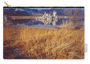 Tufa And Frozen Grass-h Carry-all Pouch