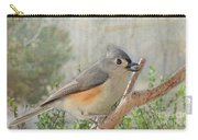 Tuffted Titmouse Early Spring Carry-all Pouch