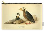 Tufted Puffins Carry-all Pouch by Philip Ralley