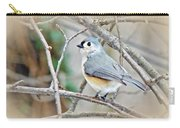 Tufted Titmouse - Baeolophus Bicolor Carry-all Pouch