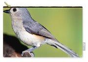 Tufted Titmouse Parus Bicolor Carry-all Pouch