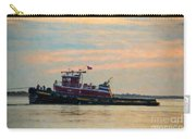Tug Boat Hard At Work Carry-all Pouch