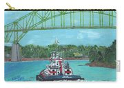 Tug Sabine Under Bourne Bridge Carry-all Pouch