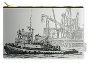 Tugboat Martha Foss Carry-all Pouch