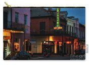 Tujagues At Night In New Orleans Carry-all Pouch