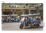 Tuk Tuk Taxis In Bangkok Thailand Carry-all Pouch