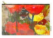 Tulip Abstracts Carry-all Pouch