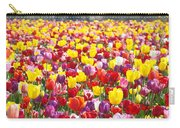 Tulip Flower Festival Art Prints Spring Carry-all Pouch