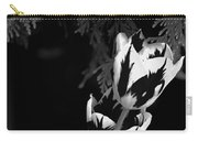 Tulip Group In Black And White Carry-all Pouch
