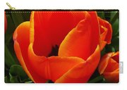 Tulip Orange Flower Carry-all Pouch