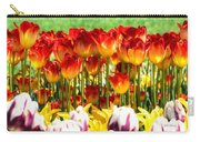 Tulip Stand In Mount Vernon Washington Carry-all Pouch