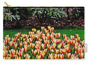 Tulip Stripe Garden Carry-all Pouch