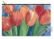 Tulips After The Rain Carry-all Pouch