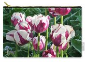 Tulips Among The Forget Me Nots Carry-all Pouch