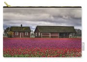 Tulips And Barns Carry-all Pouch