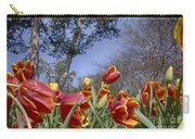 Tulips At Dallas Arboretum V37 Carry-all Pouch