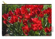 Tulips At Dallas Arboretum V57 Carry-all Pouch