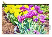 Tulips At Dallas Arboretum V65 Carry-all Pouch