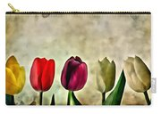 Tulips Color Carry-all Pouch