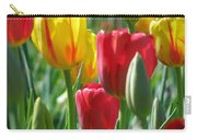 Tulips - Field With Love 22 Carry-all Pouch