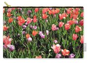 Tulips - Field With Love 55 Carry-all Pouch