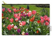 Tulips Garden Art Prints Colorful Spring Floral Carry-all Pouch