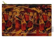 Tulips In Acryl Collage Carry-all Pouch