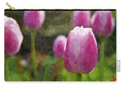 Tulips In Digital Watercolor Carry-all Pouch