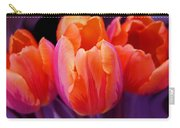 Tulips In Orange And Purple Carry-all Pouch