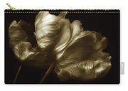 Tulips In Sepia Carry-all Pouch