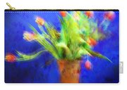 Tulips In The Blue Carry-all Pouch