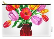 Tulips In The Vase Carry-all Pouch