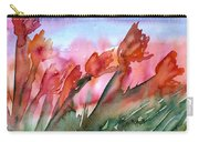 Tulips In The Wind Carry-all Pouch