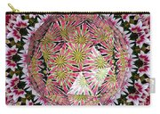Tulips Kaleidoscope Under Polyhedron Glass Carry-all Pouch