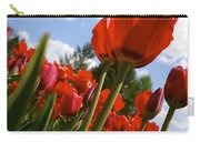 Tulips Leaning Tall Carry-all Pouch