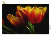 Tulips Of Light Carry-all Pouch