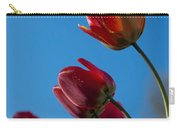 Tulips On Blue Carry-all Pouch