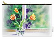 Tulips On The Window Carry-all Pouch