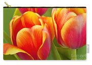 Tulips Red And Yellow Carry-all Pouch