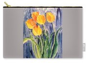 Tulips Carry-all Pouch by Sherry Harradence