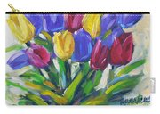 Tulips Time Love The Spring By Prankearts Carry-all Pouch