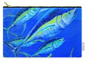 Tuna Semiabstract Carry-all Pouch