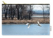 Tundra Swan Flight Carry-all Pouch