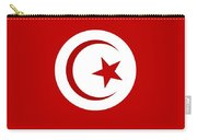 Tunisia Flag Carry-all Pouch