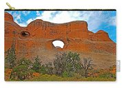 Tunnel Arch On Devils Garden Trail In Arches National Park-utah In Arches National Park-utah Carry-all Pouch