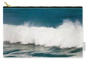 Turbulent Water Of Breaking Ocean Wave And Spray Carry-all Pouch