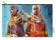 Young Turkana Girls Carry-all Pouch