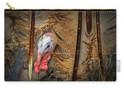 Turkey And Feathers Carry-all Pouch