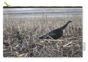 Turkey And Pheasant Meeting Carry-all Pouch