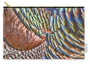 Turkey Feather Colors Carry-all Pouch